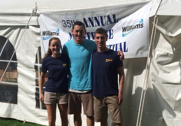 Our highly-energetic interns, Haley, Jak and David spent the day on Saturday at volunteers at the Montrose Blueberry Festival.