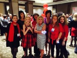 Williams women go red in Pittsburgh
