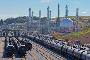 Harrison Hub facility in rural Ohio has a fractionation capacity of 135,000 barrels per day.