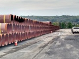 Atlantic Sunrise project pipe begins arriving in PA