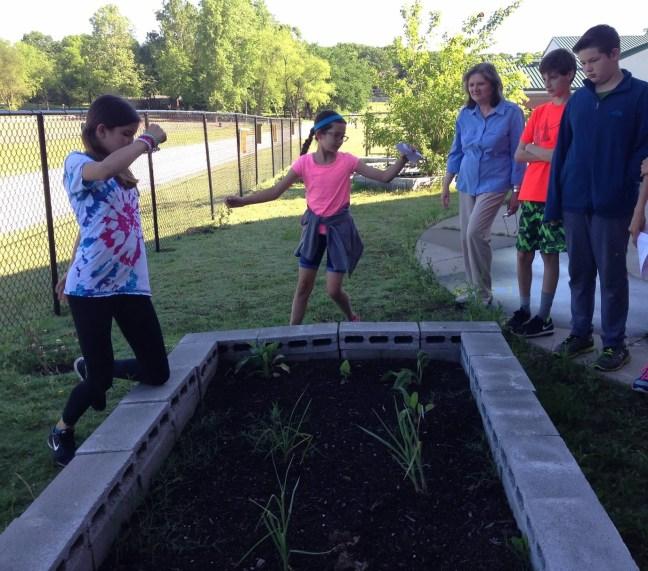 Outdoor classroom Bixby North Intermediate 2016