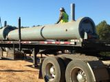 Dalton pipeline project construction underway