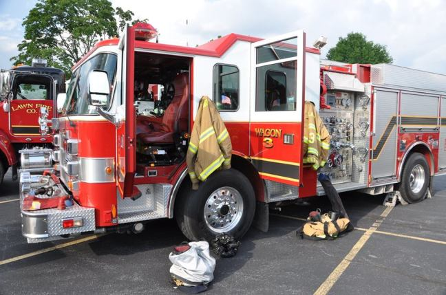 photo of a fire truc