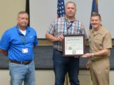 Williams receives U.S. Navy Reserve Outstanding Employer Support Award