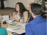 Early career program employees gather for leadership development