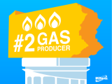 Pennsylvania reports record year for natural gas production