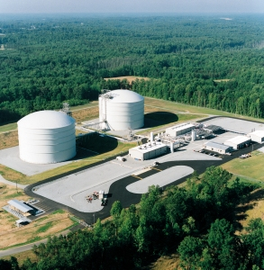Pine Needle LNG -- the Williams-operated liquefied natural gas storage facility located in Stokesdale, N.C.