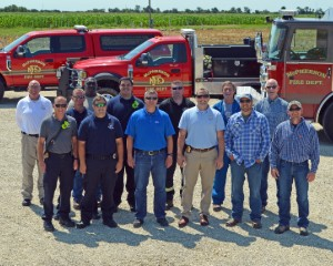 Emergency Responder Staging Area Site Built on Foundation of Strong Relationships